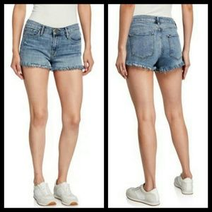 FRAME Le Cutoff Shredded Raw Size 29 Shorts
